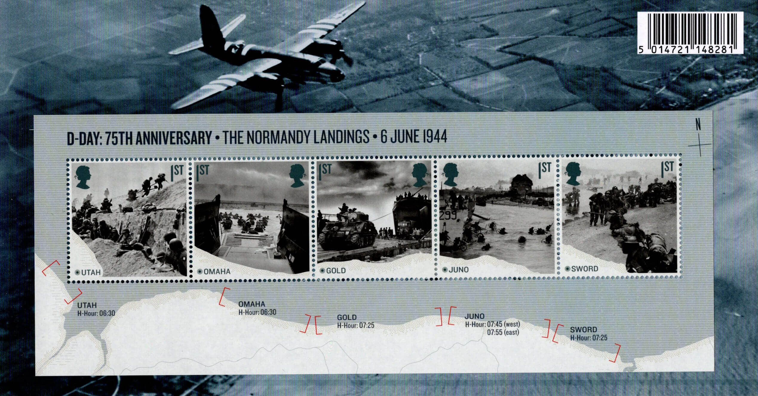 D-Day (2019) : Collect GB Stamps
