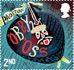 Curious Customs 2nd Stamp (2019) Padstow Obby Oss