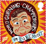 Curious Customs 1st Stamp (2019) World Gurning Championships