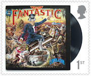 Music Giants - Elton John 1st Stamp (2019)  Captain Fantastic and The Brown Dirt Cowboy
