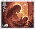 Christmas 2019 1st Large Stamp (2019) Mary with baby Jesus