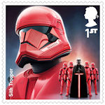 Star Wars - The Rise of Skywalker 1st Stamp (2019) Sith Trooper