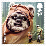 Star Wars - The Rise of Skywalker 1st Stamp (2019) Wicket Warrick