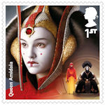 Star Wars - The Rise of Skywalker 1st Stamp (2019) Queen Amidala