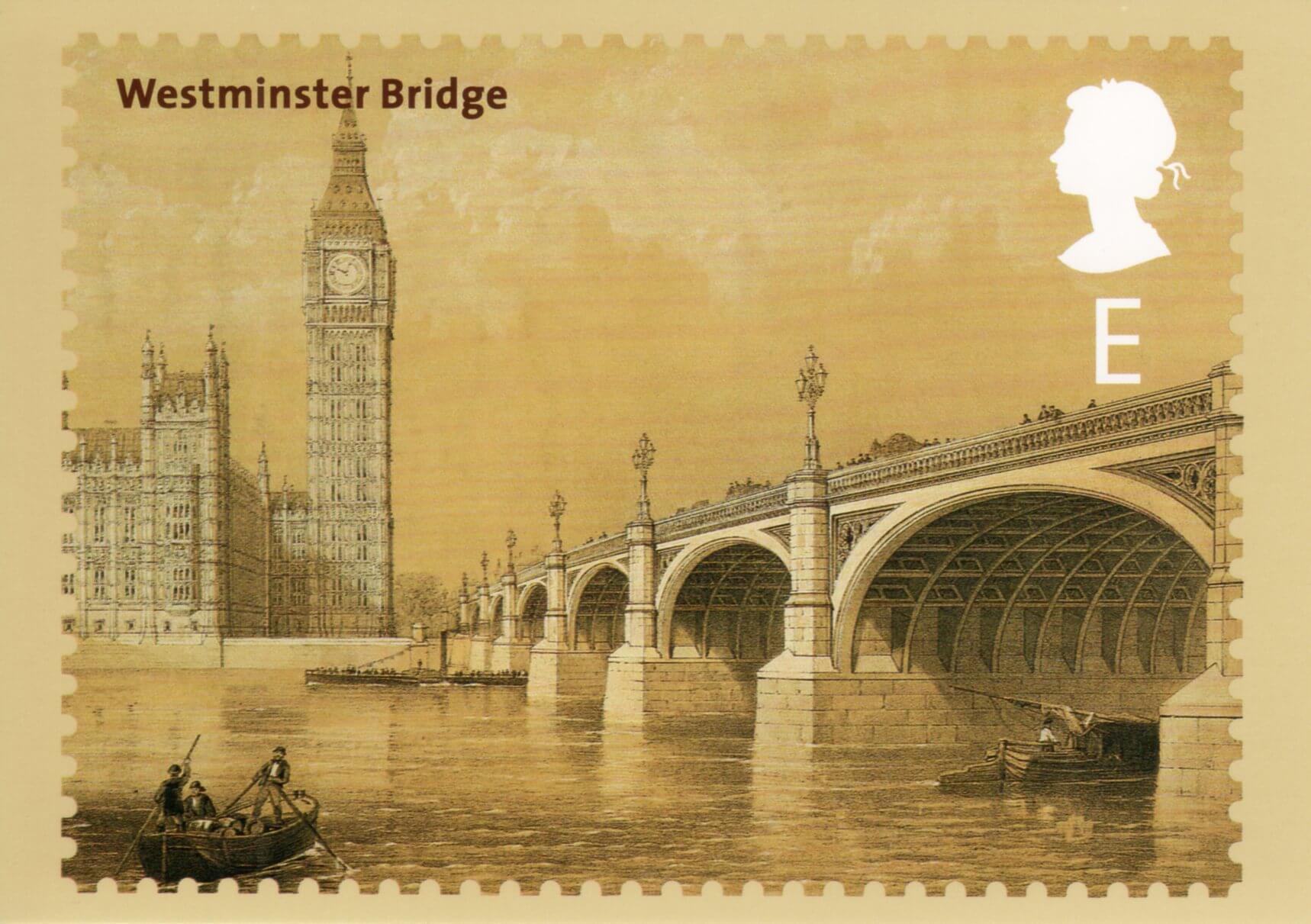 почтовая открытка англия одной ложке
