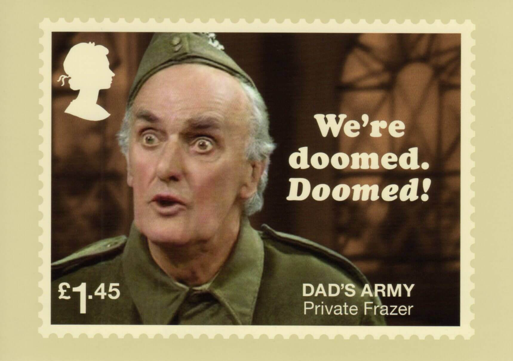 Dads Army 2018 Collect Gb Stamps Put That Light Out Phq444