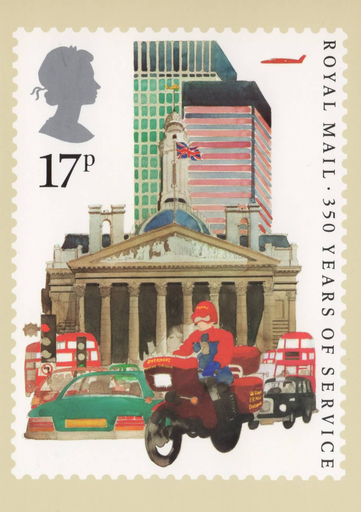 350 Years Of Royal Mail Public Postal Service 1985