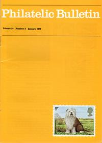British Philatelic Bulletin Volume 16 Issue 5