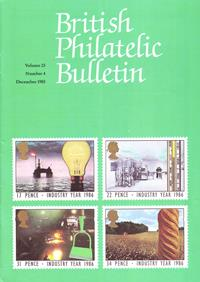 British Philatelic Bulletin Volume 23 Issue 4