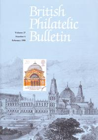 British Philatelic Bulletin Volume 27 Issue 6