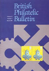 British Philatelic Bulletin Volume 27 Issue 7
