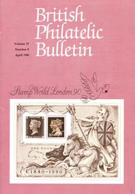 British Philatelic Bulletin Volume 27 Issue 8