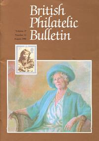 British Philatelic Bulletin Volume 27 Issue 12