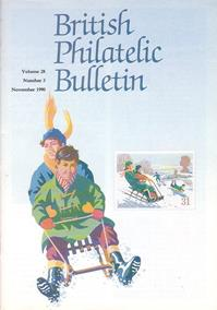 British Philatelic Bulletin Volume 28 Issue 3