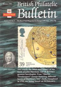 British Philatelic Bulletin Volume 30 Issue 5