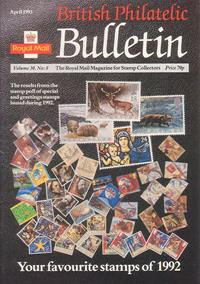 British Philatelic Bulletin Volume 30 Issue 8