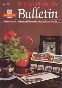 British Philatelic Bulletin Volume 30 Issue 11